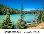 view of sparks lake on the... | Shutterstock . vector #726237916