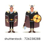 funny cartoon character  viking.... | Shutterstock .eps vector #726238288
