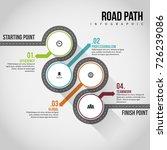 vector illustration of road... | Shutterstock .eps vector #726239086