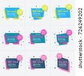 weekend sale banner  special...   Shutterstock .eps vector #726249202