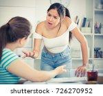 adolescent girls finding out...   Shutterstock . vector #726270952