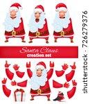 santa claus cartoon character...   Shutterstock .eps vector #726279376
