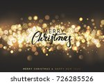 christmas background with... | Shutterstock .eps vector #726285526
