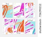 hand drawn creative universal... | Shutterstock .eps vector #726290212