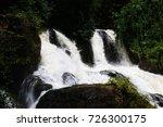 pha mat waterfall mae hong son... | Shutterstock . vector #726300175
