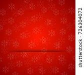 merry christmas gift card... | Shutterstock .eps vector #726304072