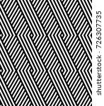 vector seamless pattern. modern ... | Shutterstock .eps vector #726307735