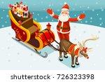 Santa Claus Sledge. Santa Claus ...