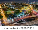 bangkok train station or hua... | Shutterstock . vector #726339415