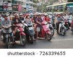 saigon  vietnam   january 2017  ... | Shutterstock . vector #726339655