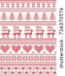 scandinavian  nordic style... | Shutterstock .eps vector #726370576
