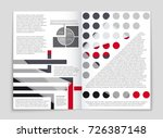 abstract vector layout... | Shutterstock .eps vector #726387148