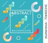abstract background modern... | Shutterstock .eps vector #726402142