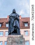 albrecht durer monument  1828 ... | Shutterstock . vector #726421045