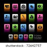 internet   blog icons    color...