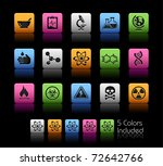 science icons    color box      ... | Shutterstock .eps vector #72642766