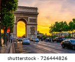 Paris Arc De Triomphe ...