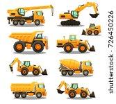 construction equipment  ...   Shutterstock .eps vector #726450226