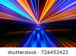 motion speed lights. speed... | Shutterstock . vector #726452422