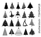 vector illustration set of... | Shutterstock .eps vector #726456418
