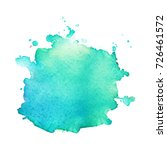 abstract isolated watercolor... | Shutterstock .eps vector #726461572