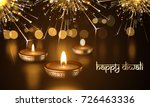 happy diwali indian deepavali... | Shutterstock .eps vector #726463336