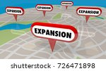 expansion new locations map... | Shutterstock . vector #726471898