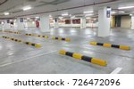 car parking bar in the parking... | Shutterstock . vector #726472096