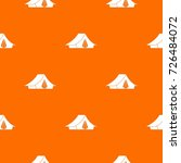 camping tent pattern repeat... | Shutterstock .eps vector #726484072