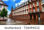 marktplatz  market square  of... | Shutterstock . vector #726494212