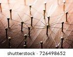 linking entities. broken... | Shutterstock . vector #726498652
