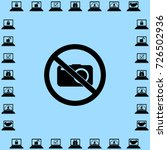 no photo icon  photocamera... | Shutterstock .eps vector #726502936