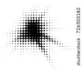 grunge black and white dots... | Shutterstock .eps vector #726503182