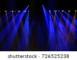 performance moving lighting on... | Shutterstock . vector #726525238