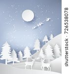 paper art landscape of... | Shutterstock .eps vector #726538078