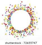 Colorful Beads  Circle Shape...