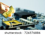 electronic hardware computer...   Shutterstock . vector #726576886