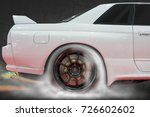 rear wheel drive super sport...   Shutterstock . vector #726602602