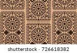 ornamental seamless pattern.... | Shutterstock .eps vector #726618382