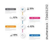 time line infographic and icons ...   Shutterstock .eps vector #726631252