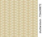 vector vintage pattern design ... | Shutterstock .eps vector #726638872