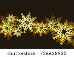 merry christmas and happy new... | Shutterstock . vector #726638932