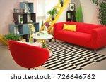 interior of beautiful modern... | Shutterstock . vector #726646762