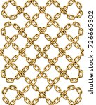seamless pattern of intertwined ... | Shutterstock . vector #726665302
