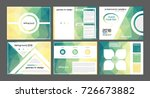 presentation templates for... | Shutterstock .eps vector #726673882