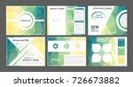 presentation templates for... | Shutterstock .eps vector #726673882