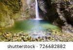 waterfalls and water games in... | Shutterstock . vector #726682882