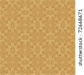 seamless baroque wallpaper   Shutterstock .eps vector #72668671