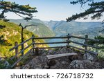 viewpoint banjska stena tara... | Shutterstock . vector #726718732