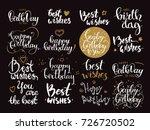 happy birthday   best wishes.... | Shutterstock .eps vector #726720502